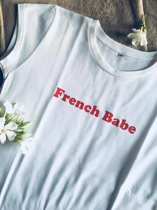 French Babe Tee