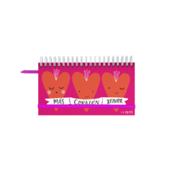 Agenda Pocket Corazon
