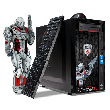 Pc Gamer Exo X6 Intel I3 1tb Gtx1050 8gb Windows 10 Juegos - comprar online