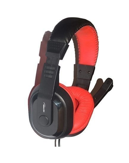 Auricular Netmak NM Shadow Gamer Con Micrófono 40mm