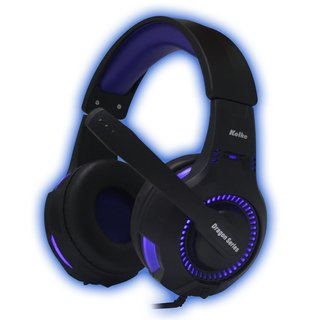 Auricular Gamer para Pc o PS4 Kolke Spartan Luces Led y microfono