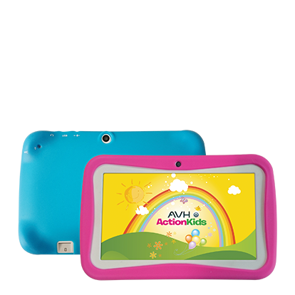 Tablet Avh Action Kids Android Quadcore Bluetooth Antigolpes en internet