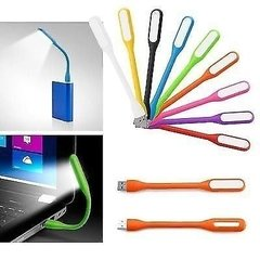 Luz Led Usb Para Notebook Flexible Portatil Flex - comprar online