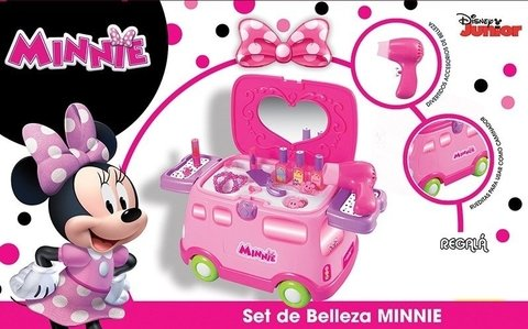 Set De Belleza Y Caminador Disney Minnie Zippy Toys Tv - comprar online