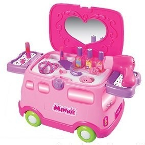 Set De Belleza Y Caminador Disney Minnie Zippy Toys Tv