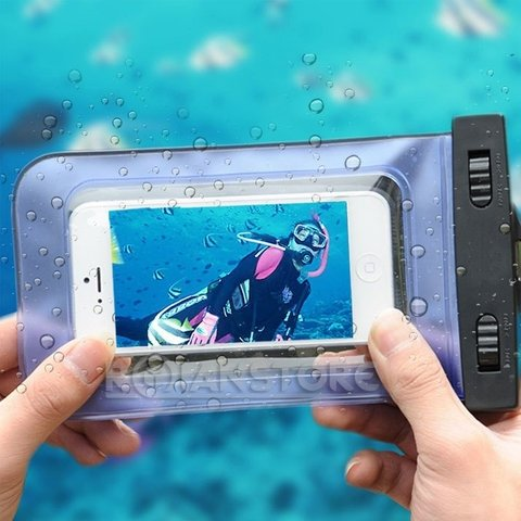 Bolsa Funda Waterproof Sumergible Samsung Iphone Smartphone - comprar online