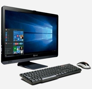 Pc Aio Exo 23 All In One Core I7 8gb 1tb Fullhd Hdmi Dvd