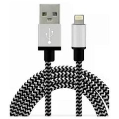 Cable Lightning Skyway SK-CB02 2Mts USB Mallado Bicolor