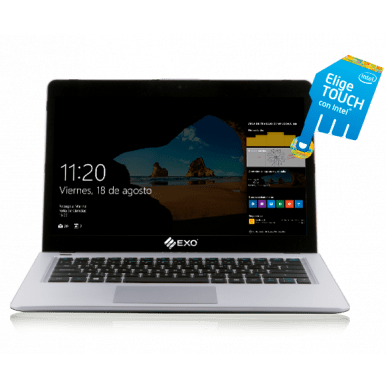 Ultrabook Exo Intel Core I3 Táctil 4gb 120gb Ssd 14'' W10