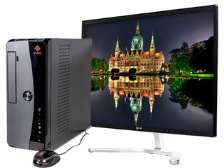 Pc Exo Ready H7-V1945s Intel Celeron 4g Ram Disco 500gb + Monitor HD24 - comprar online