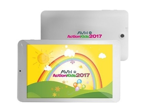 Tablet Avh Action Kids Android Quadcore Bluetooth Antigolpes