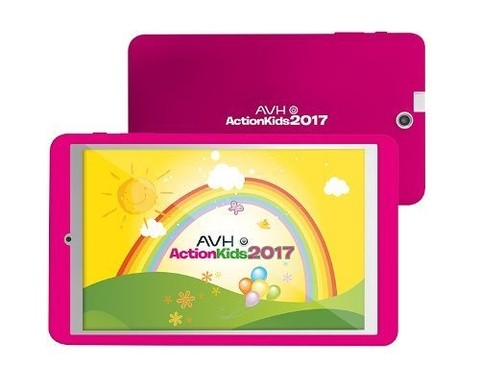 Tablet Avh Action Kids Android Quadcore Bluetooth Antigolpes - comprar online
