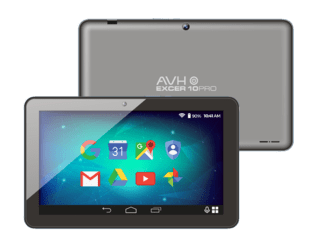 Tablet Avh Excer Pro LCD 10 Android 7 HDMI 16Gb Quadcore