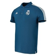 Camiseta Remera adidas Polo Real Madrid Concentración Fútbol