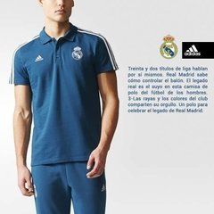 Camiseta Remera adidas Polo Real Madrid Concentración Fútbol en internet