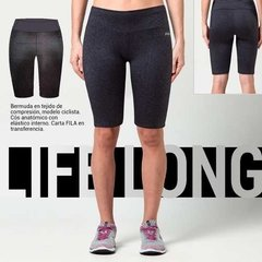 Short Calza Corta Fila Long Life Running Training De Dama en internet