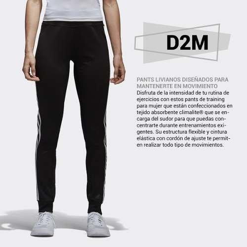bajo precio mejor lugar zapatos para correr Pantalón adidas D2m De Dama Entrenamiento Con Puño