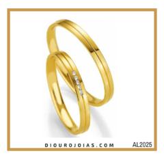 c7eb4e24e24e0 Alianças de Ouro é na Diouro Joias