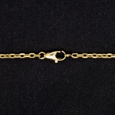 ace105643ae Corrente Masculina Malha Cartier Cadeado 18g 60cm em Ouro 18K Cod ...