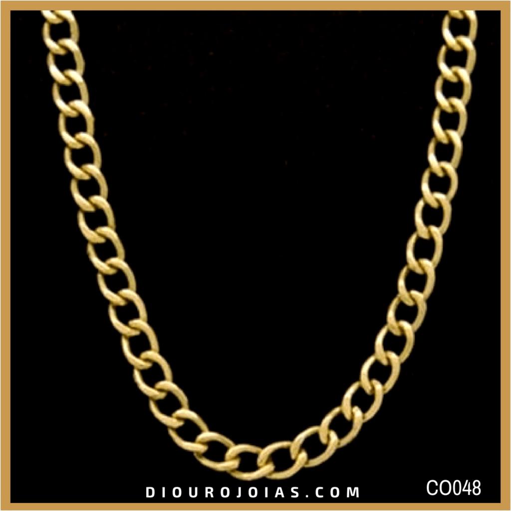 1142d0f64d4 Corrente de Ouro Masculina Grumet 25g 60cm Cod. CO048 — Diouro Joias