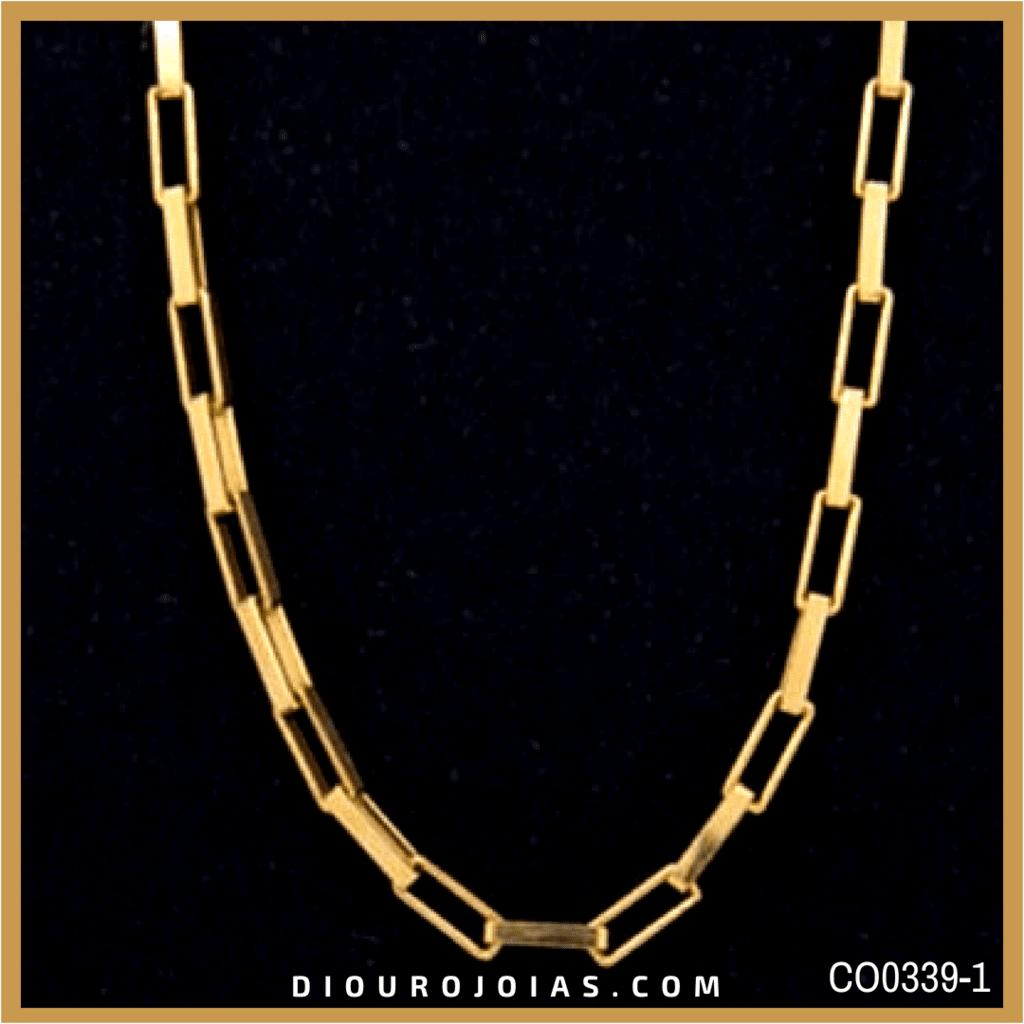 aeed0a20910d8 Corrente de Ouro Cartier Alongada Cod. CO0339-1 — Diouro Joias