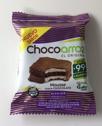 Chocoarroz sabor mousse de chocolate -22gr- Gallo