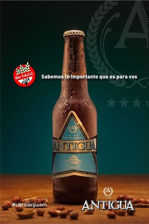 Cerveza Golden - Antigua