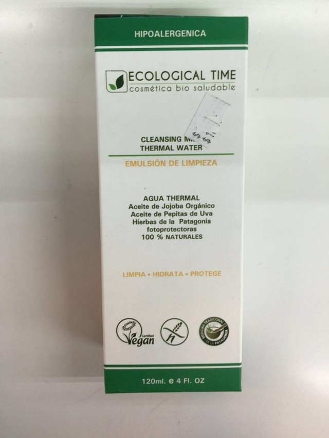 Emulsion de limpieza -120ml- Ecological Time