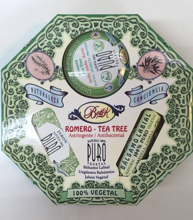 Kit Octogonal Romero Tea Tree - Botik - comprar online