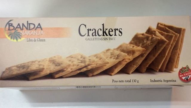 Galletitas Crackers - 130gr-Banda Naranja