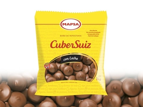CuberSuiz Chocolate con leche - Mapsa