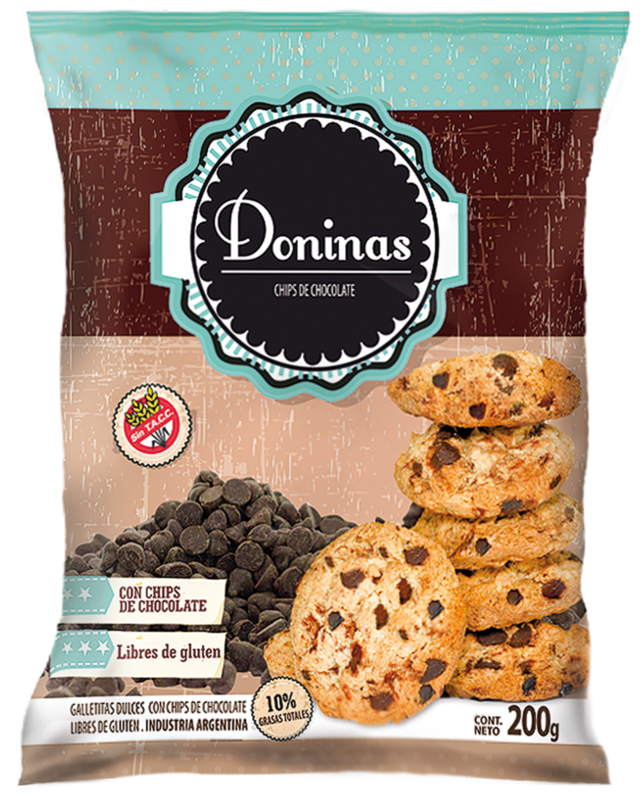 Chips de chocolate - 200gr-Doninas