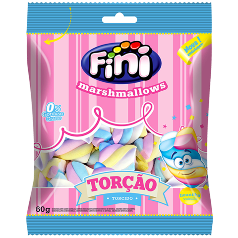 Marshmallows Torcidos - Fini 500gr