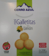 Mini Galletitas Limon 200 Gr Cerro Azul1