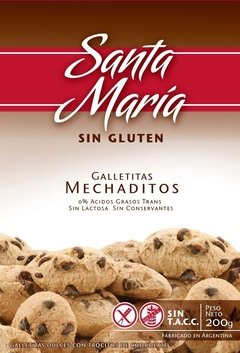 Galletitas Dulces Mechaditos Santa Maria