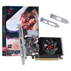 Placa de Vídeo AMD radeon HD 5450 1GB DDR3 64 Bits com Kit Low Profile Incluso - PJ54506401D3LP