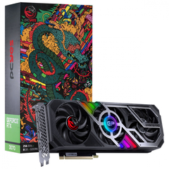 Placa de Vídeo Nvidia Geforce RTX 3070 8GB GDDR6 256 Bits Triple-Fan Graffiti Gaming Pro Séries - PP3070GP8DR6256