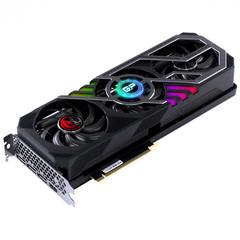Imagem do Placa de Vídeo Nvidia Geforce RTX 3070 8GB GDDR6 256 Bits Triple-Fan Graffiti Gaming Pro Séries - PP3070GP8DR6256