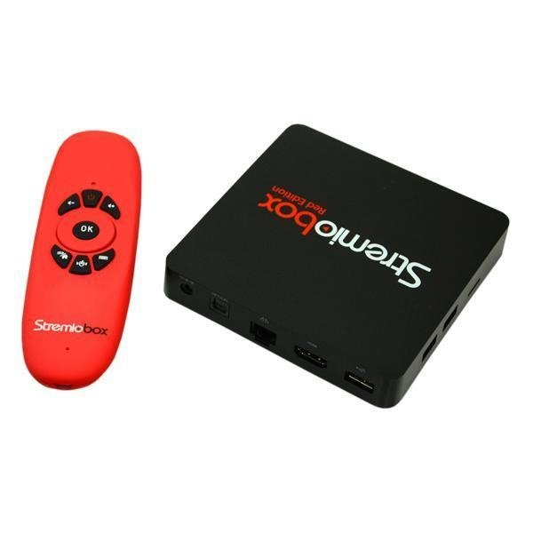 Stremiobox S905X Red Edition - comprar online