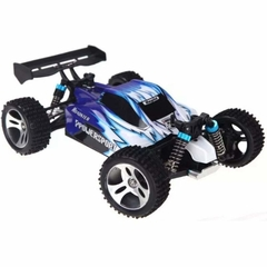 Automodelo Off Road WLtoys Vortex Buggy Racing A959-B 1/18 RTR 4WD 2.4GHz Max 50km/h-Azul - comprar online