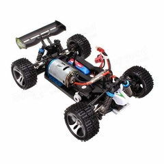Automodelo Off Road WLtoys Vortex Buggy Racing A959-B 1/18 RTR 4WD 2.4GHz Max 50km/h-Azul na internet
