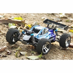 Automodelo Off Road WLtoys Vortex Buggy Racing A959-B 1/18 RTR 4WD 2.4GHz Max 50km/h-Azul - loja online