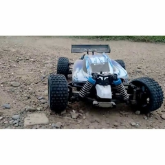 Imagem do Automodelo Off Road WLtoys Vortex Buggy Racing A959-B 1/18 RTR 4WD 2.4GHz Max 50km/h-Azul