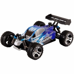 Automodelo Off Road WLtoys Vortex Buggy Racing A959-B 1/18 RTR 4WD 2.4GHz Max 50km/h-Azul