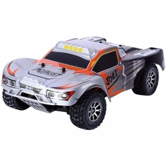 Automodelo Off Road WLtoys Vortex Short Course A969 1/18 RTR 4WD 2.4GHz Max 50km/h-Prata