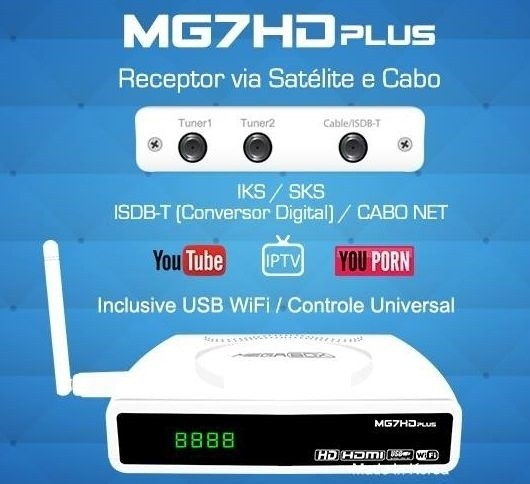 Megabox MG7HD Plus na internet