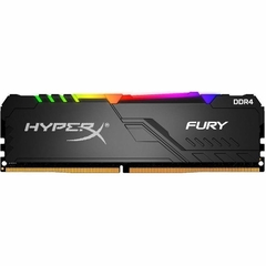 Memória 8GB Kingston DDR4 3466MHz CL16 HyperX Fury-HX434C16FB3A8 Preto