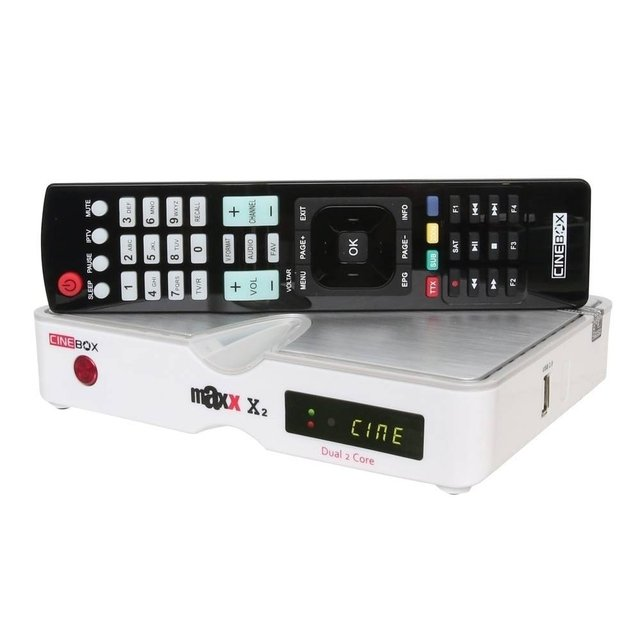 Cinebox Maxx X2 na internet