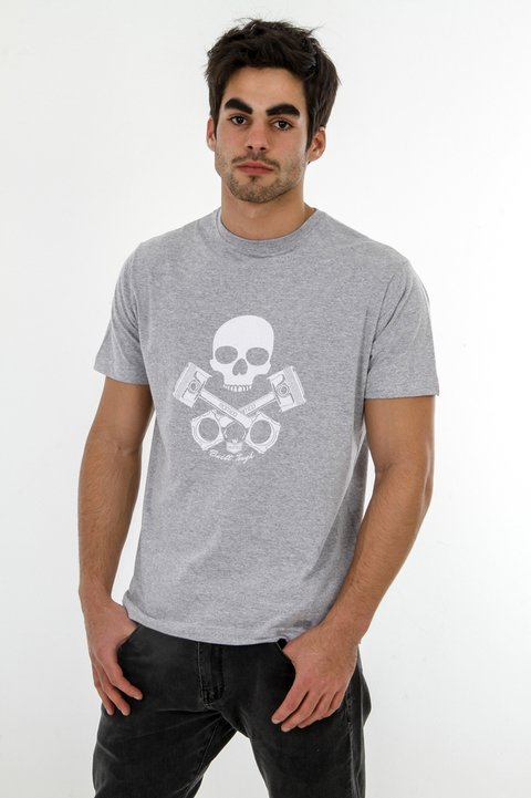 T-Shirt Pistons and Skull - Regular Fit na internet