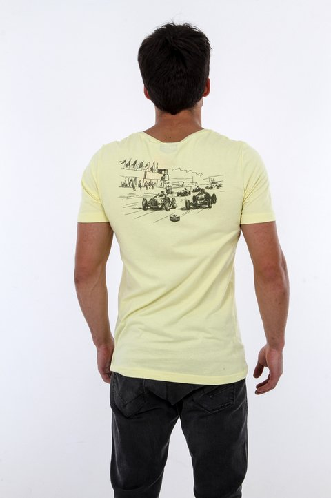 T-shirt Vintage Race - Slim Fit - loja online